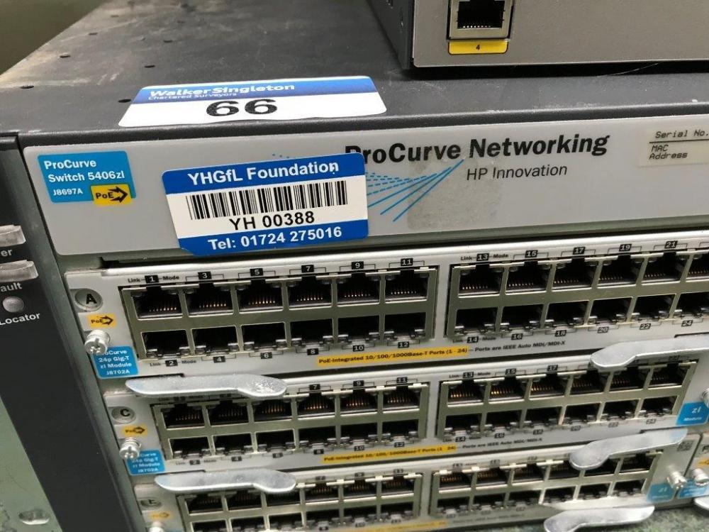 HP Procurve Networking Switch 5406 Z1 J8697A