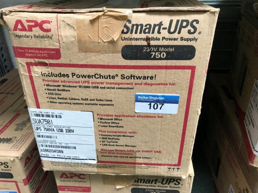 New Boxed A P C Smart-UPS