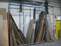 4 Bays of Various Part and Full Rolls of Edge Banding by REHAU