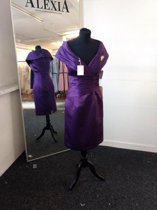 19aa14ddf8c5 Lot 1720 of 1431: Mother of the Bride Dress by Alexia Design Style: M071  Size (US): 8 Colour: VIOLET Approximate Retail Price (GBP): 325