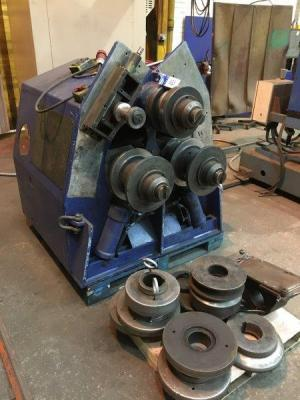 ROUNDO AB R-4 3 Roll Hydraulic Section Rollers; Serial ...