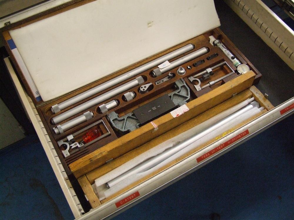 Tesa internal / external unitest micrometer with 500mm